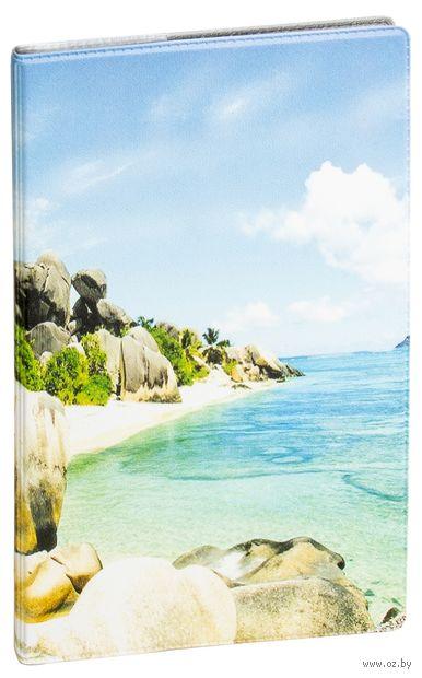 """Обложка на паспорт """"Море"""" — фото, картинка"""