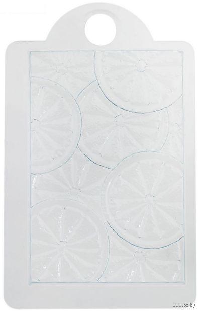 """Форма для изготовления мыла """"Текстурный лист. Апельсин"""" — фото, картинка"""