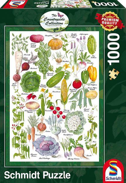 """Пазл """"Овощи"""" (1000 элементов) — фото, картинка"""