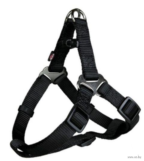 """Шлея """"Premium Harness"""" (размер S; 40-50 см; черный)"""