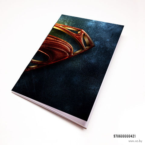 "Блокнот ""Супермэн"" (А7; арт. 421)"