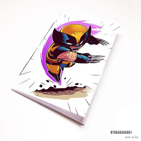 "Блокнот ""Люди Икс. Росомаха"" (А7; арт. 901) — фото, картинка"