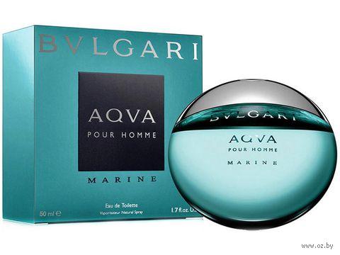 """Туалетная вода для мужчин Bvlgari """"Aqua Marine"""" (50 мл) — фото, картинка"""