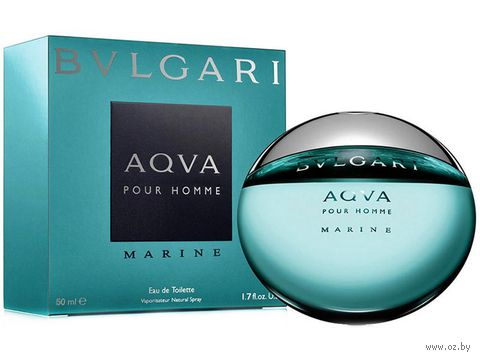 "Туалетная вода для мужчин Bvlgari ""Aqua Marine"" (50 мл)"