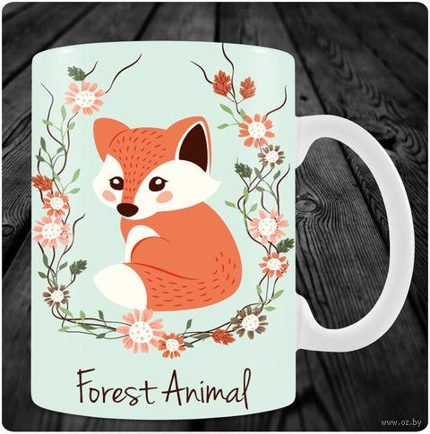 "Кружка ""Forest animal"" (арт. 23) — фото, картинка"