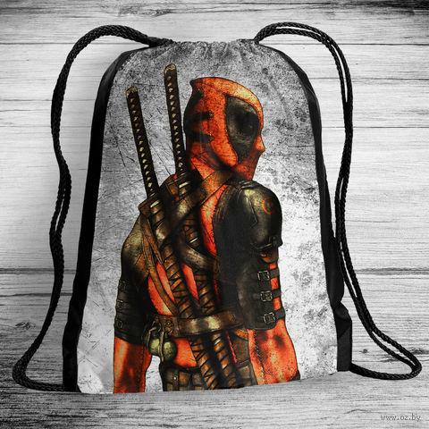 """Рюкзак-мешок """"Дэдпул"""" (арт. 4) — фото, картинка"""