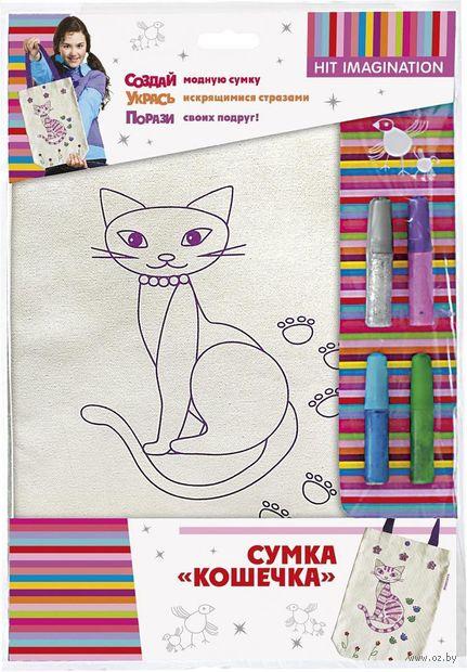 """Набор для шитья из ткани """"Кошечка"""" — фото, картинка"""