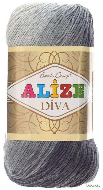 "Пряжа ""ALIZE. Diva Batik Design №1900"" (100 г; 350 м) — фото, картинка"