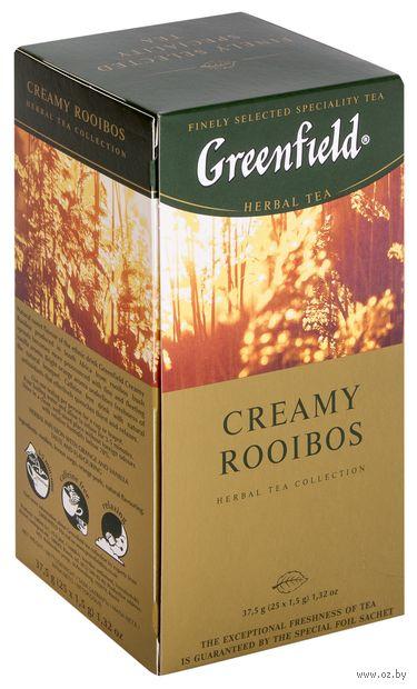 """Фиточай """"Greenfield. Creamy Rooibos"""" (25 пакетиков) — фото, картинка"""