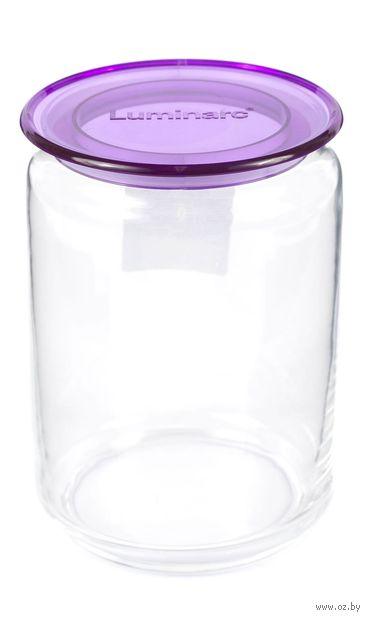 Банка для сыпучих продуктов стеклянная (1 л; арт. N2334) — фото, картинка