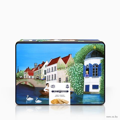 """Печенье """"Jules Destrooper. Bruges' Canals"""" (350 г) — фото, картинка"""