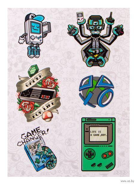 """Набор наклеек №34 """"Game"""" — фото, картинка"""
