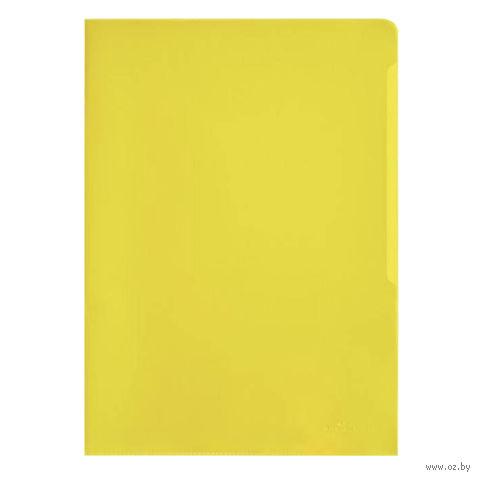 "Папка-уголок ""Durable"" А4 (желтая)"