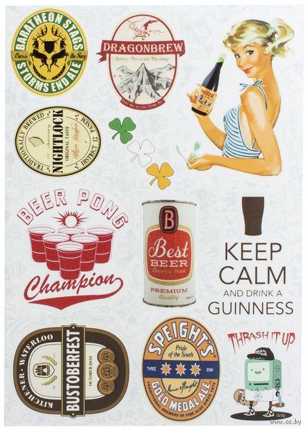 "Набор виниловых наклеек №24 ""Beer"""