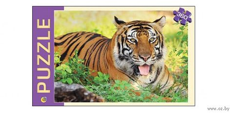 """Пазл """"Красивый тигр"""" (360 элементов) — фото, картинка"""