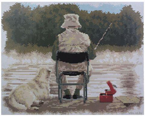 """Алмазная вышивка-мозаика """"Рыбак"""""""