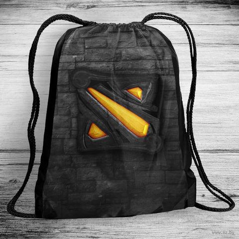 """Рюкзак-мешок """"Дота"""" (арт. 3) — фото, картинка"""