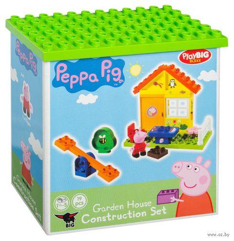"Конструктор ""Peppa Pig. Летний домик"" (19 деталей) — фото, картинка"