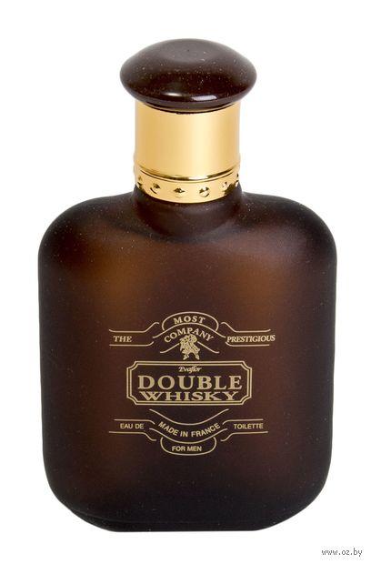 """Туалетная вода для мужчин """"Double Whisky"""" (100 мл) — фото, картинка"""