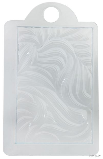 """Форма для изготовления мыла """"Текстурный лист. Локоны"""" — фото, картинка"""