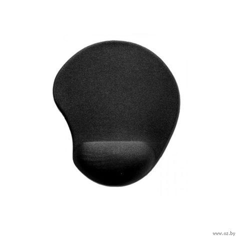 Коврик для мыши Buro BU-GEL (черный) — фото, картинка