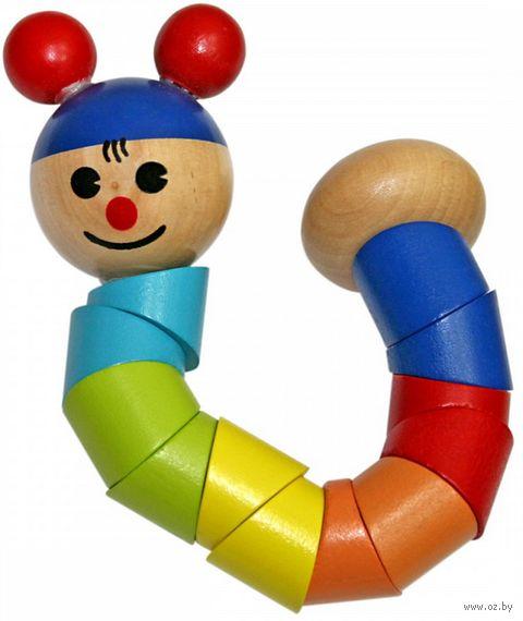 """Деревянная игрушка """"Гусеница"""" — фото, картинка"""