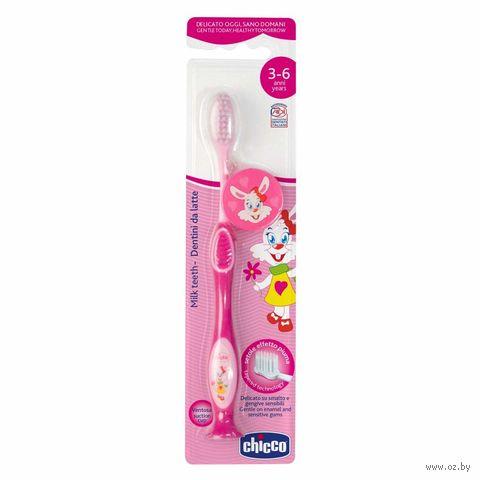 """Детская зубная щетка """"Chicco. Розовая"""" (арт. 00009079100000) — фото, картинка"""