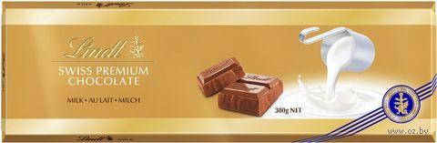 """Шоколад молочный """"Lindt. Gold"""" (300 г) — фото, картинка"""