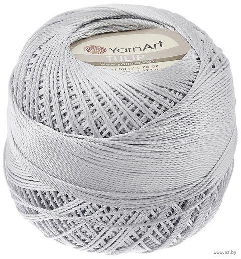 "Пряжа ""YarnArt. TULIP №475"" (50 г; 250 м; светло-серый) — фото, картинка"