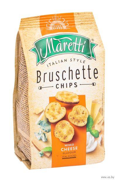 """Сухарики """"Bruschette. Смесь сыров"""" (70 г) — фото, картинка"""