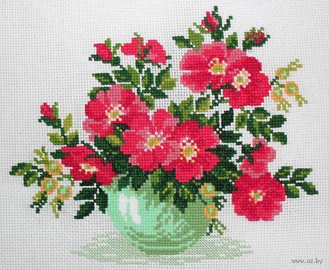 """Вышивка крестом """"Дикая роза"""" (арт. 871)"""
