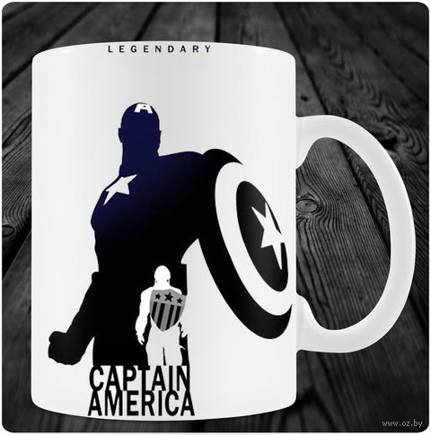 """Кружка """"Капитан Америка"""" (art. 11)"""