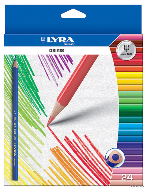 "Набор карандашей цветных ""Osiris"" (24 цвета)"