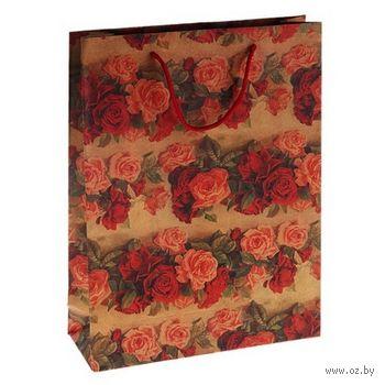 Пакет бумажный подарочный (25х9х33 см; арт. 10738693; продается только в розничных магазинах OZ) — фото, картинка