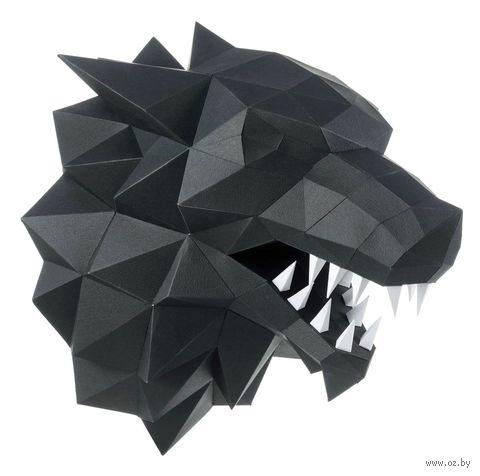 """3D-конструктор """"Лютоволк"""" (чёрный) — фото, картинка"""