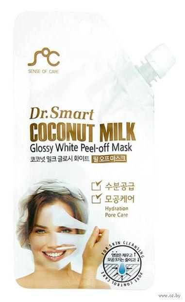 """Маска-пленка для лица """"С кокосовым молоком"""" (25 мл) — фото, картинка"""
