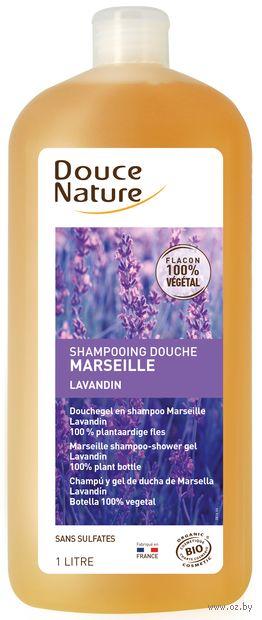 """Шампунь для волос и тела 2в1 """"С марсельским мылом и эфирными маслами"""" (1 л) — фото, картинка"""