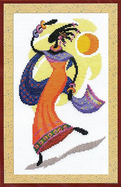 """Вышивка крестом """"Дочь Солнца"""" (170х280 мм) — фото, картинка"""