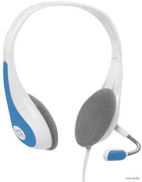 Гарнитура Defender Esprit HN-836 (бело-синяя) — фото, картинка