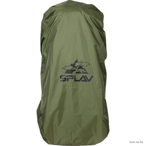 Накидка на рюкзак (70-90 л; олива) — фото, картинка