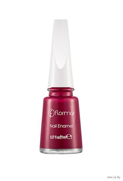"""Лак для ногтей """"Nail Enamel"""" (тон: 482, expressive blackberry) — фото, картинка"""