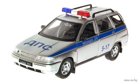 """Модель машины """"Lada-111. Полиция"""" (масштаб: 1/36)"""