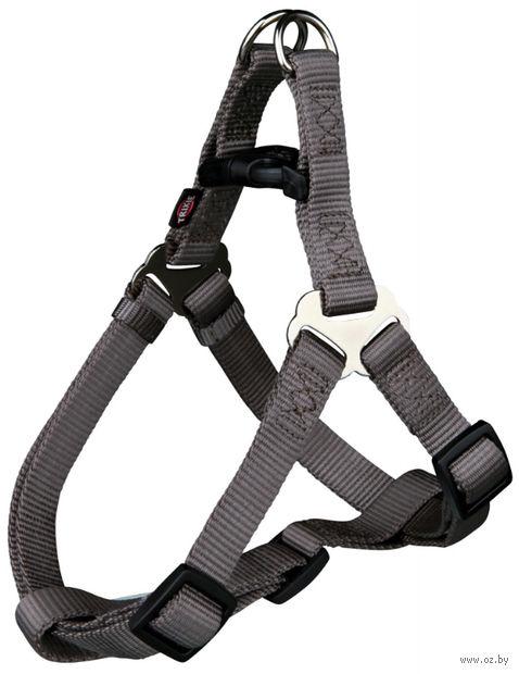 """Шлея для собак """"Premium Harness"""" (размер S, 40-50 см, темно-коричневый, арт. 20446)"""
