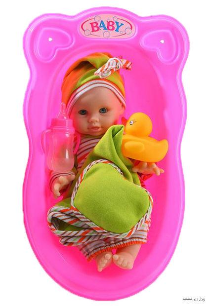 """Пупс в ванне """"Baby"""" (арт. Д61646)"""