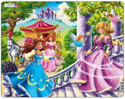 """Пазл """"Принцессы"""" (24 элемента)"""