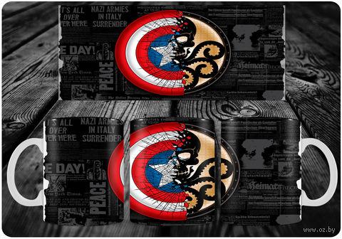 "Кружка ""Капитан Америка"" (арт. 14) — фото, картинка"