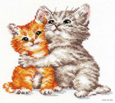 "Вышивка крестом ""Два котенка"" (арт. АН-1118)"