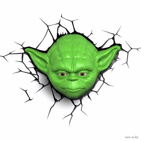 """Декоративный светильник """"Звездные войны. Йода"""" — фото, картинка"""