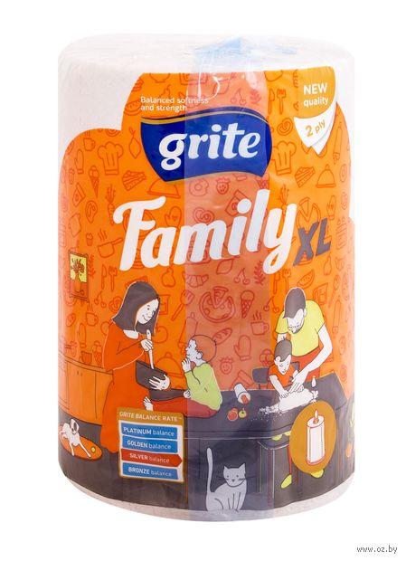"""Бумажные полотенца """"Family XL"""" (2 слоя; белые) — фото, картинка"""