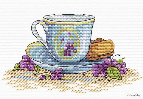"""Вышивка крестом """"Печенье к завтраку"""" (150х180 мм) — фото, картинка"""